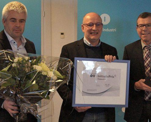 Probeco beløennes med di aalborgs initiativpris 2016